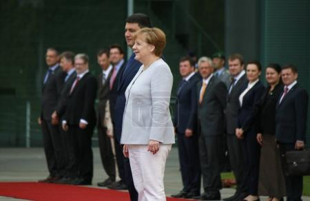 Meeting of the German Chancellor