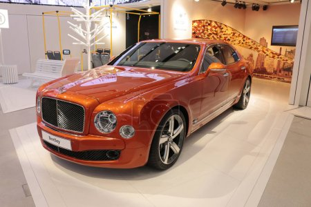 car of brand Bentley
