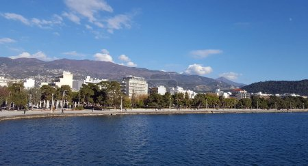 City of Volos waterfront