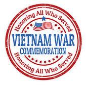 Vietnam War Commemoration sign or stamp