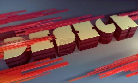 3D design letters