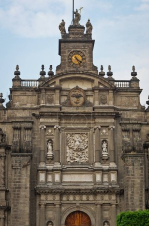 Elements of Cathedral on Zocalo