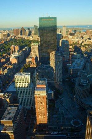 Top view of Boston