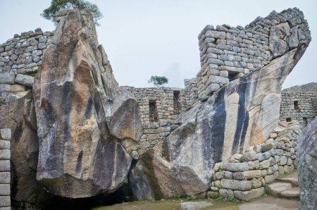 Temple of Condor, in Machu Picchu