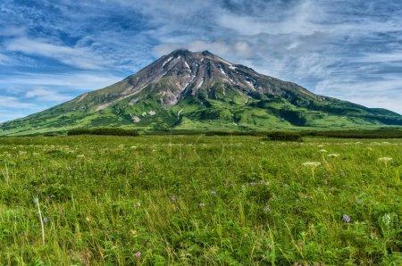 Fuss Peak Volcano