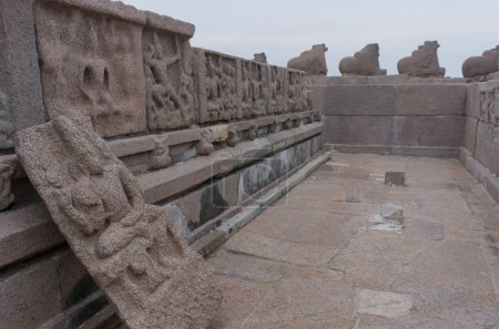 Shore temple in Mamallapuram, Tamil Nadu, India
