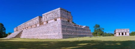 Ruins of Uxmal - ancient Maya city. Yucatan, Mexico