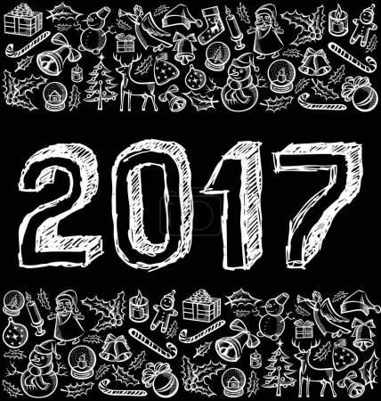 design of sketch numbers 2017
