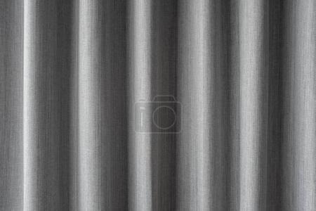 Foto de Cortina gris fondo o gris fondo de cortina - Imagen libre de derechos