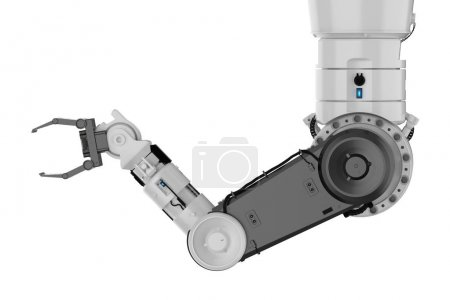 Photo for 3d rendering robotic arm or robot hand - Royalty Free Image
