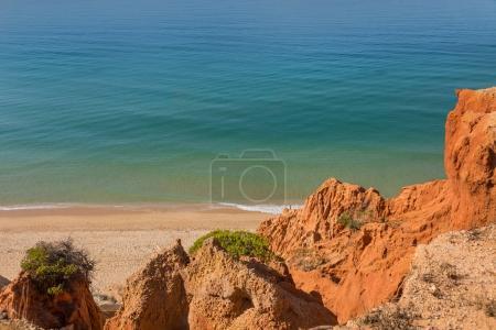 Idyllic beach of Falesia, Algarve Portugal