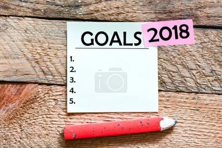 2017 goals inscription paper.
