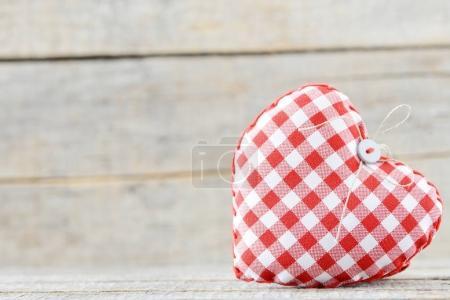 handmade retro heart