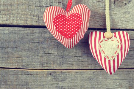 valentine's day love heart card