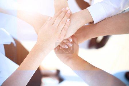 Photo pour Business People Collaboration Teamwork Union Concept bureau moderne - image libre de droit