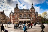 The Stadsschouwburg is the name of a theatre building at the Leidseplein in Amsterdam, Netherlands, former home of the National Ballet and Opera