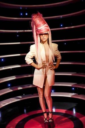 Восковая фигура Леди Гага