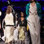 Models walk the runway at Anteprima Ready to Wear show during Milan Fashion Week Spring and Summer 2017, MILAN, ITALY, SEPTEMBER 22