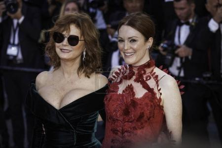 Julianne Moore and Susan Sarandon in Cannes