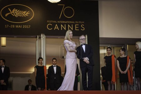 Uma Thurman at Cannes Film Festival