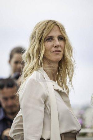 Sandrine Kiberlain attends Jury Camera D'Or Photocall