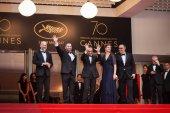 Loveless screening in Cannes