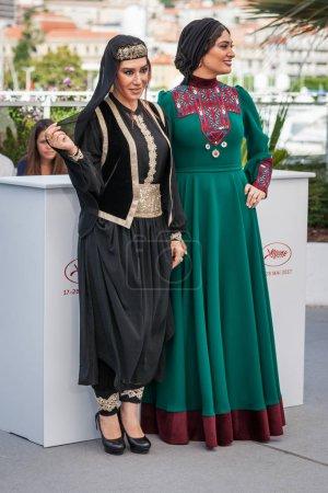Nasim Adabi and Soudabeh Beizaee in Cannes