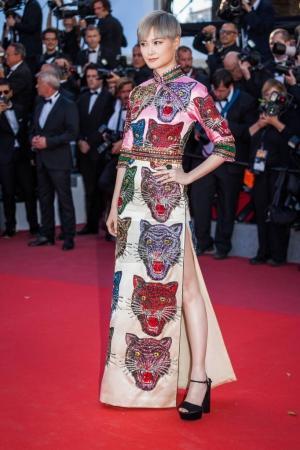 Li Yuchun at Cannes Film Festival