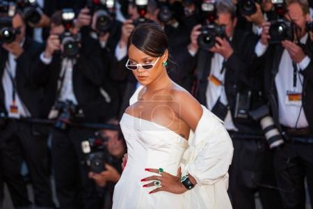 CANNES, FRANCE - MAY 19: Rihanna attends the 'Okja' screening during the 70th annual Cannes Film Festival