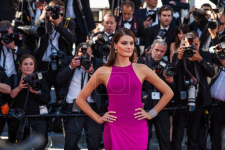 Isabeli Fontana attends Cannes Film Festival