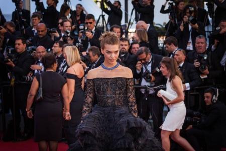 Arizona Muse  attends Cannes Film Festival