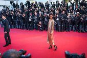 Liya Kebede attends Cannes Film Festival