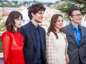 Redoubtable photocall in Cannes