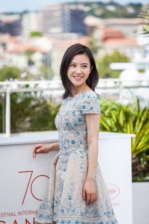 Yang Zishan at Cannes Film Festival