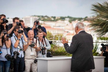 Laurent Cantet at Cannes Film Festival