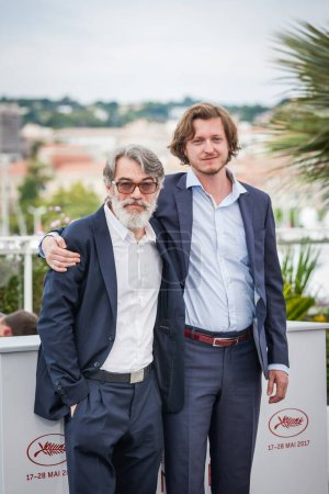 Sandor Terhes and Gyorgy Kristof in Cannes