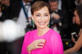 Kristin Scott-Thomas at Cannes Film Festival