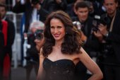 Andie MacDowell at Cannes Film Festival