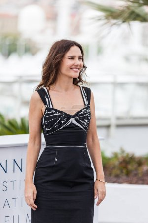 CANNES, FRANCE - MAY 09, 2018: Virginie Ledoyen attends the Jury Un Certain Regard photocall during the 71st annual Cannes Film Festival