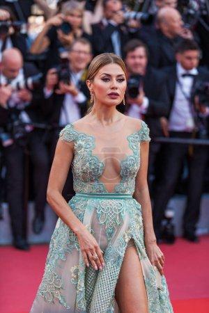 Cannes, France - 9 mai 2018: Victoria Bonya participant à la projection de «Tout le monde sait (Todos Lo Saben)» et le gala d'ouverture lors de la 71e Festival du Film Cannes