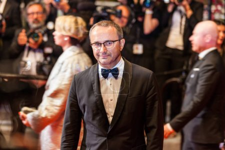 CANNES, FRANCE - MAY 9, 2018: Andrey Zvyagintsev attending screening of 'Leto' during the 71st annual Cannes Film Festival at Palais des Festivals