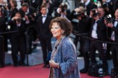 CANNES, FRANCE - MAY 13, 2018: Claudia Cardinale attends the screening of 'Sink Or Swim (Le Grand Bain)' during the 71st annual Cannes Film Festival