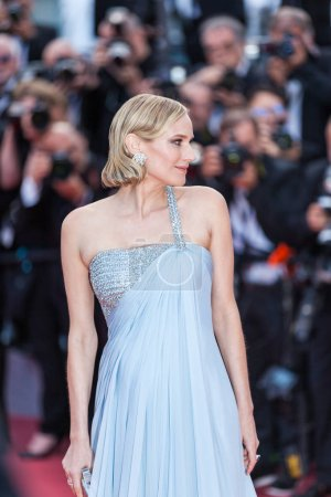 Photo for CANNES, FRANCE - MAY 13, 2018: Actress Diane Kruger attending screening of 'Sink Or Swim (Le Grand Bain)' during the 71st annual Cannes Film Festival at Palais des Festivals - Royalty Free Image