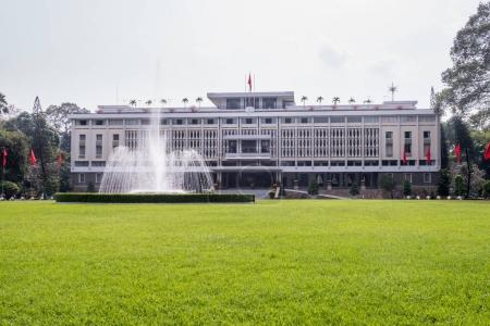 Reunification Palace (Independence Palace) in Ho Chi Minh City f
