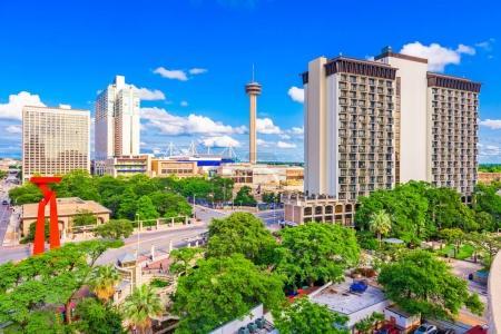 Photo for San Antonio, Texas, USA downtown cityscape. - Royalty Free Image