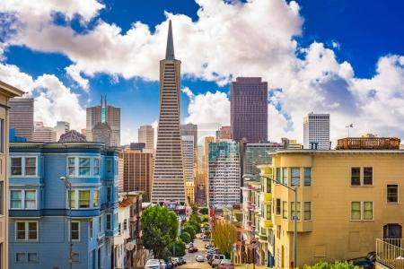 San Francisco, California, USA Skyline