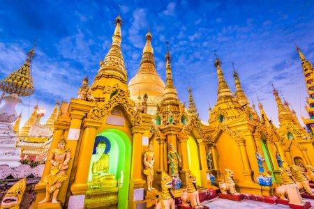 Pagode de Shwedagon au Myanmar