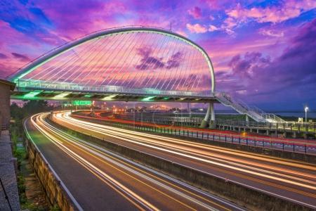 Hsinchu, Taiwan Bridge