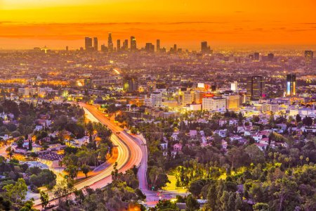 Los Angeles, California Skyline