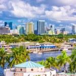 Fort Lauderdale, Florida, USA skyline....